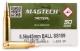 MAGTECH Tactical 5.56x45mm BALL SS109 FMJ Ammo - 50 Rounds